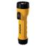 Rayovac Industrial Tough Flashlight, Krypton Bulb, Yellow/Black RAYI2DBULKD