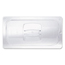 Rubbermaid Commercial Cold Food Pan Covers RCP128P-23CLE