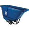 Rubbermaid Commercial Rotomolded Recycling Tilt Truck RCP1305-73BLU