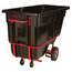Rubbermaid Commercial Rotomolded Tilt Truck RCP131542BLA