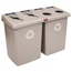 Rubbermaid Commercial Glutton® Recycling Station RCP1792374