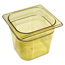 Rubbermaid Commercial Hot Food Pans RCP206P AMB