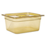 Rubbermaid Commercial Hot Food Pans RCP225P AMB