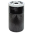 Rubbermaid Commercial Smoking Urn with Ashtray and Metal Liner RCP2586BLA