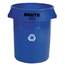 Rubbermaid Commercial Brute® Recycling Container RCP2620-73BLU