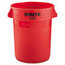 Rubbermaid Commercial Round Brute® Container RCP2632RED