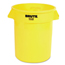 Rubbermaid Commercial Round Brute® Container RCP2632YEL