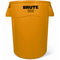 Rubbermaid Commercial Vented Round Brute® Container RCP2643-60YEL