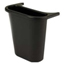 Rubbermaid Commercial Wastebasket Recycling Side Bin in Black RCP2950-73BLA