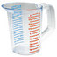 Rubbermaid Commercial Bouncer® Measuring Cup RCP3215CLE