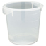 Rubbermaid Commercial Round Storage Containers RCP5721-24CLE