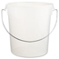 Rubbermaid Commercial Round Storage Container RCP5724WHI