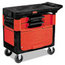 Rubbermaid Commercial Locking Trades Cart RCP618088BLA