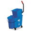 Rubbermaid Commercial WaveBrake® Side-Press Wringer/Bucket Combo RCP7588-88BLU