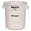 Rubbermaid Commercial Brute® Ice-Only Container RCP9F86WHI