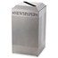 Rubbermaid Commercial Silhouette Square Recycling Collection RCPDCR24PSM