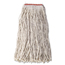 Rubbermaid Commercial Rubbermaid® Commercial Non-Launderable Cotton/Synthetic Cut-End Wet Mop Heads RCPF51812WHI