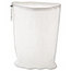 Rubbermaid Commercial Laundry Net, 24w x 24d x 36h, Synthetic Fabric, White RCPU210