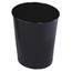 Rubbermaid Commercial Rubbermaid® Commercial Fire-Safe Steel Round Wastebaskets RCPWB26BK