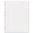 Rediform Blueline® MiracleBind™ Ruled Paper Refill Sheets REDAFR9050R