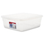 Rubbermaid Clever Store Snap-Lid Container RHP3Q24CLE