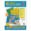 Roselle Paper Roselle Vibrant Art Crafty Printed Construction Paper RLP02806