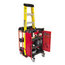 Rubbermaid Commercial Ladder Cart with Cabinet RCP9T58BLA