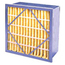 Flanders Rigid Air Filters - 24x24x6, MERV Rating : 15 PRP95G4406