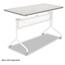 Safco Safco® Impromptu® Series Mobile Training Table Top SAF2066GR