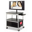 Safco Safco® Scoot™ Open Flat Panel Multimedia Cart SAF8940BL