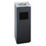 Safco Safco® Square Ash 'N' Trash Sandless Urn SAF9696BL