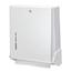 San Jamar True Fold® Metal Front Cabinet Towel Dispenser SANT1905WH