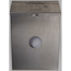 Scensible Source Combination Dispenser/Receptacle Stainless Steel SCSCDSS
