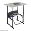 Safco AlphaBetter® Desk, 36 x 24 Standard Top, w/o Book Box SFC1206BE