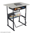 Safco AlphaBetter® Desk, 36 x 24 Standard Top with Book Box SFC1207BE