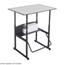 Safco AlphaBetter® Desk, 36 x 24 Premium Top, w/o Book Box SFC1208GR