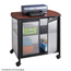 Safco Impromptu®  Deluxe Machine Stand with Doors SFC1859BL