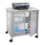 Safco Impromptu™ Deluxe Machine Stand with Doors SFC1859GR
