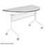 Safco Impromptu® Mobile Training Table Top Only 48x24 SFC2068GR