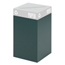 Safco Public Square® Recycling Containers SFC2981GN