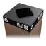 Safco Public Square® Recycling Lids for Plastic SFC2989BL