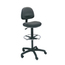 Safco Precision Extended Height Swivel Stool with Adjustable Footring SFC3401BL