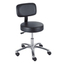 Safco Pneumatic Lab Stool With Back SFC3430BL