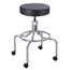 Safco Screw Lift Stool with High Base SFC3433BL