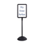 Safco WriteWay™ Double-Sided Dry Erase Standing Message Sign SFC4117BL