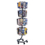Safco Wire Rotary Display Racks SFC4128CH