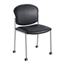 Safco Diaz™ Guest Chair - Black Vinyl SFC4194BV