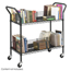 Safco Wire Book Cart SFC5333BL
