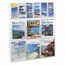 Safco Reveal™ Clear Literature Displays SFC5606CL