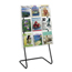 Safco Reveal™ Magazine Display Floor Stand SFC5619BL